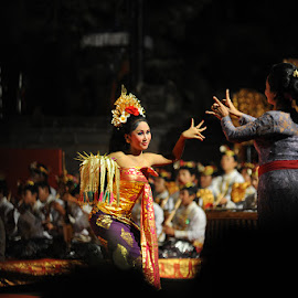 Bali Dancer by Herfan Rusando - People Musicians & Entertainers