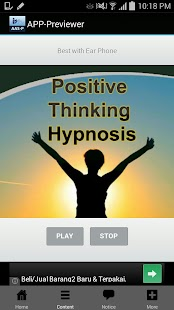 Positive Thinking Hypnosis - screenshot