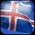 3D Iceland Flag