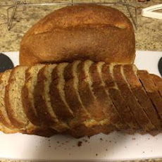 Bread Machine Honey-Oat-Wheat Bread