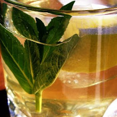 Iced Green Tea With Jasmine