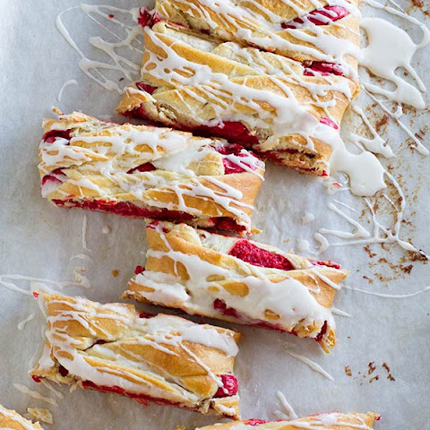 Red Velvet Cream Cheese Danish