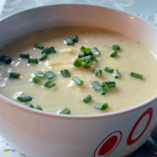Cream of Cauliflower Soup With Gruyere Cheese