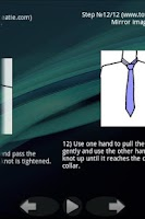 Screenshot of To tie a tie and a bow. Lite