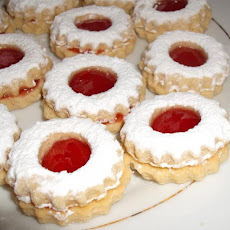 Traditional Algerian Sables (Cookies) - Like Linzer Augen