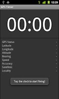 Screenshot of GPS Timer