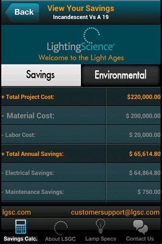 LED Savings Calculator