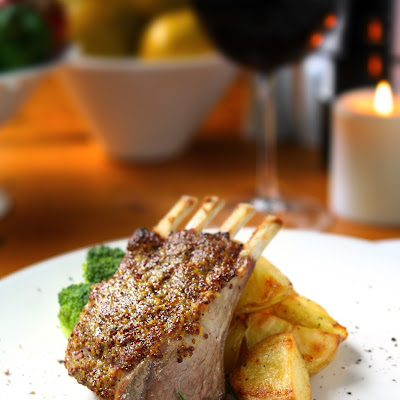 Herb Crusted Rack of Lamb