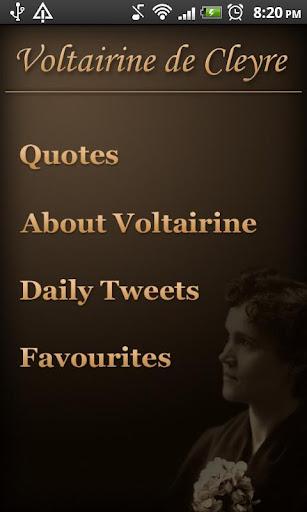 Voltairine Quotes