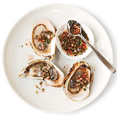 Rosemary-Green Peppercorn Mignonette