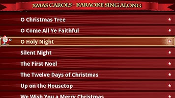 Screenshot of Xmas Carols-Karaoke Sing Along