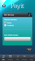 Screenshot of Payit