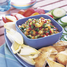 Peach and Cucumber Salsa