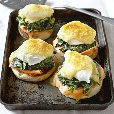 Spinach & Smoked Salmon Egg Muffins