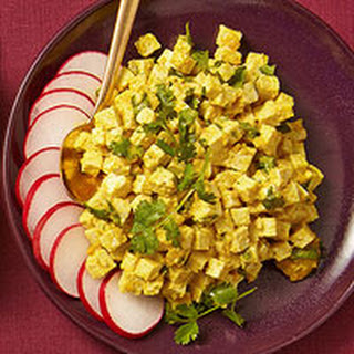 Hot Madras Curried Tofu Salad