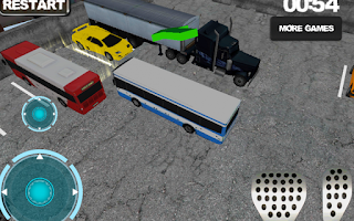 Screenshot of Bus driver: Parking simulator