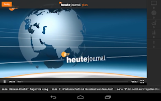 Screenshot of ZDFheute