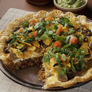 Jalapeno Pie with Red Salsa