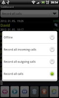 Screenshot of Call Record Free