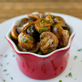 Balsamic Glazed Mushrooms and Onions
