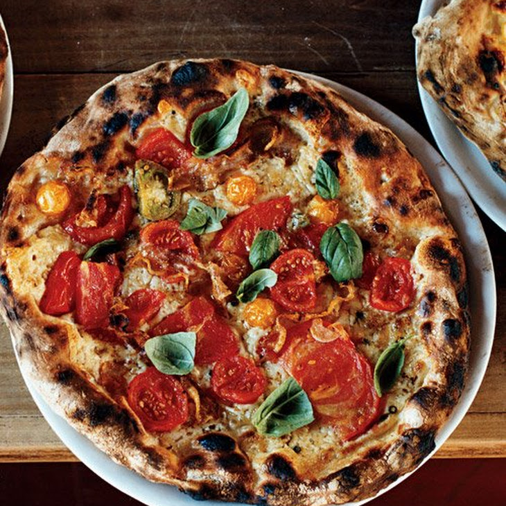 Heirloom-Tomato Pizza