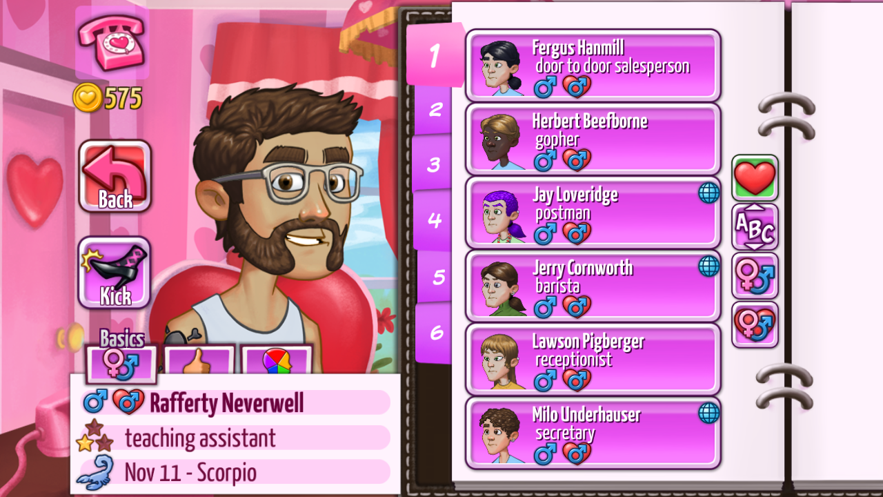 Kitty Powers' Matchmaker Screenshot 14