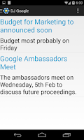 Screenshot of D.J. Sanghvi Google Portal