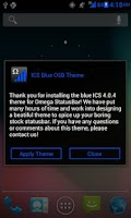 Screenshot of ICS Blue OSB Theme