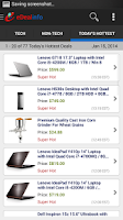 Screenshot of eDealinfo: Daily Hot Deals