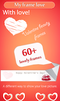 Screenshot of Valentine Love Frames
