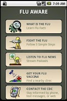 Screenshot of Flu Aware