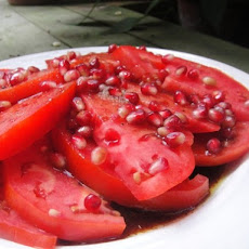 Tomato, Pomegranate and Sumac Salad