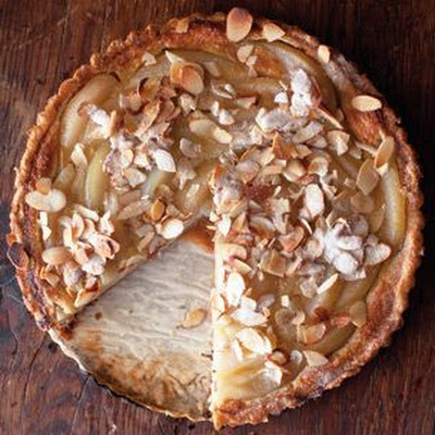Pear-Custard Tart