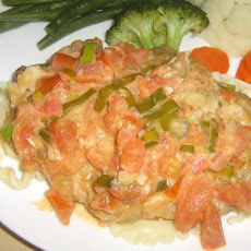 Veal Scaloppine With Tomatoes