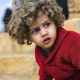 CHILD by Walid Shahin - Babies & Children Child Portraits