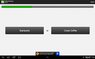 Screenshot of Decision Buddy Decision Maker