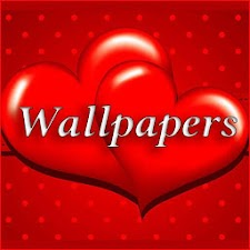 Red Love Hearts Wallpapers