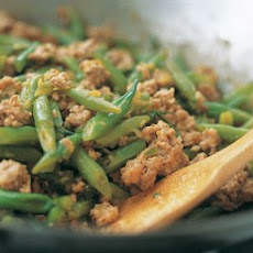 Dry-Fried String Beans with Pork