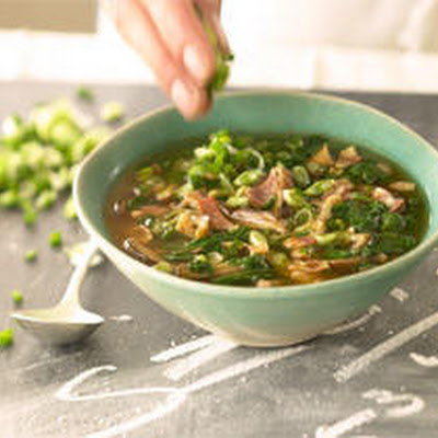 Mushroom and Pancetta Soup