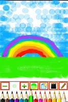 Screenshot of Kiddy Paint! Free