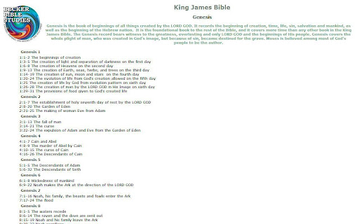【免費書籍App】King James Bible-APP點子