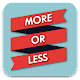 More or Less - Memory Training