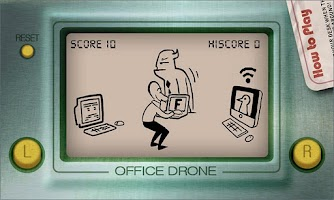 Screenshot of Office Drone