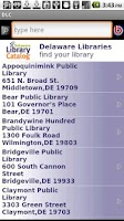 Screenshot of Delaware Library Catalog (DLC)