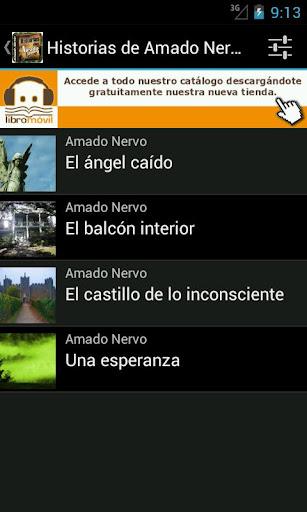 【免費書籍App】Historias de Amado Nervo-APP點子