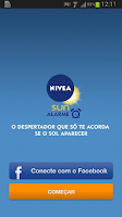 Screenshot of NIVEA SUN