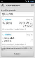 Screenshot of Busai Vilnius