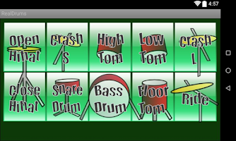 Screenshot of Real Drums