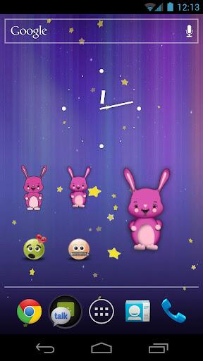 Easter Bunny Power Widget