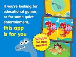 Screenshot of Dino kids - Dinosaurs games
